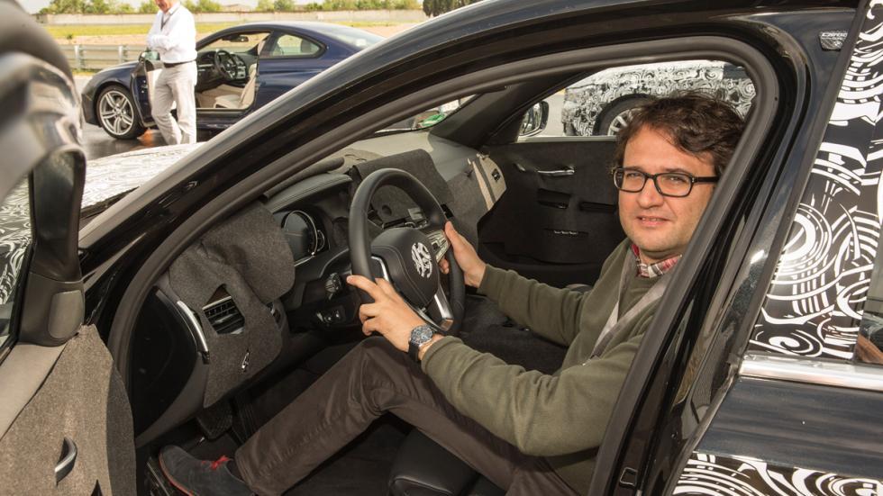 prueba BMW Serie 7 2015 interior