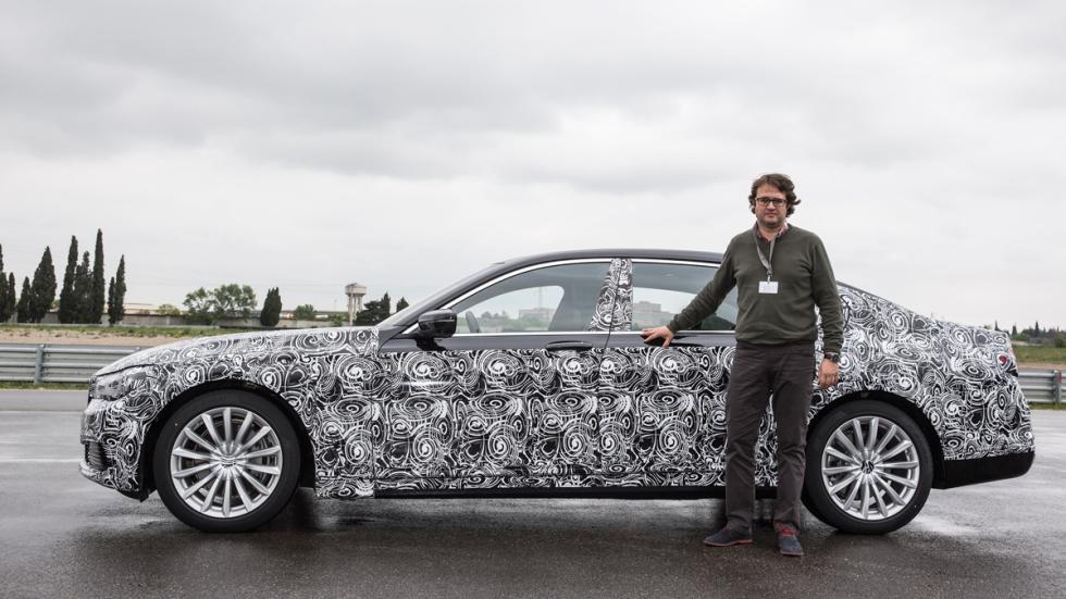 prueba BMW Serie 7 2015 leceta