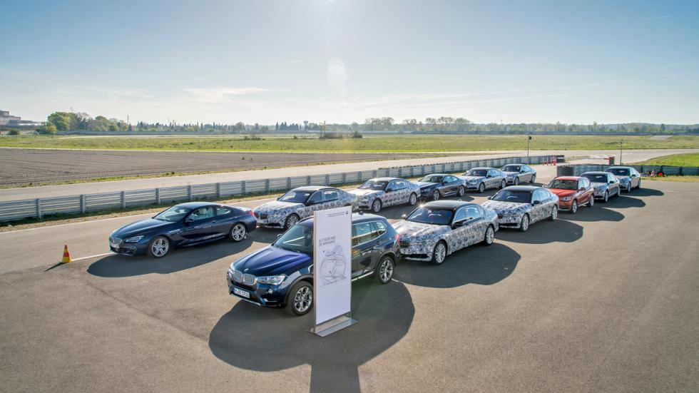 vehículos prueba BMW Serie 7 2015