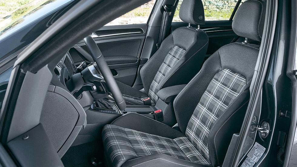 Prueba: Volkswagen Golf GTD Variant asientos