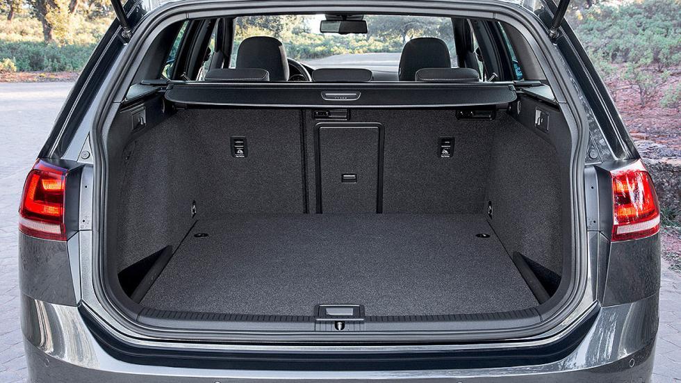 Prueba: Volkswagen Golf GTD Variant maletero