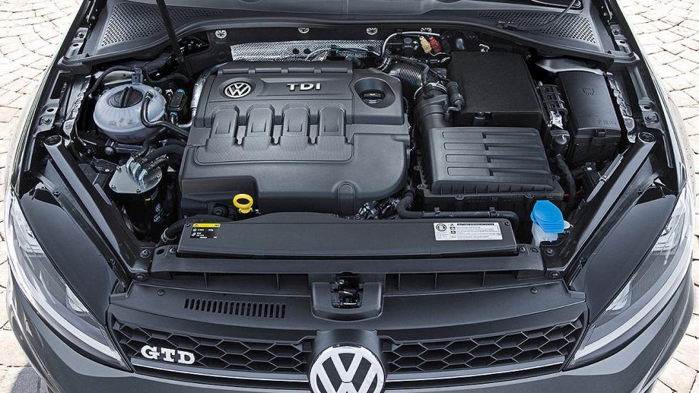 Prueba: Volkswagen Golf GTD Variant motor