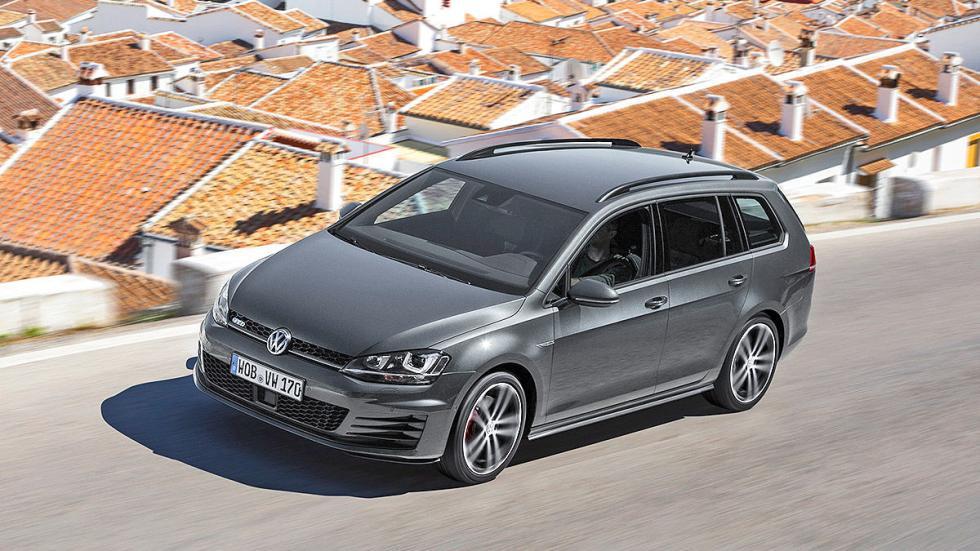 Prueba: Volkswagen Golf GTD Variant techo