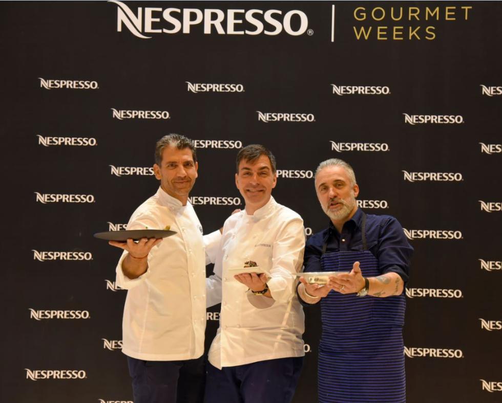 Paco Roncero, Ramón Freixa y Sergi Arola