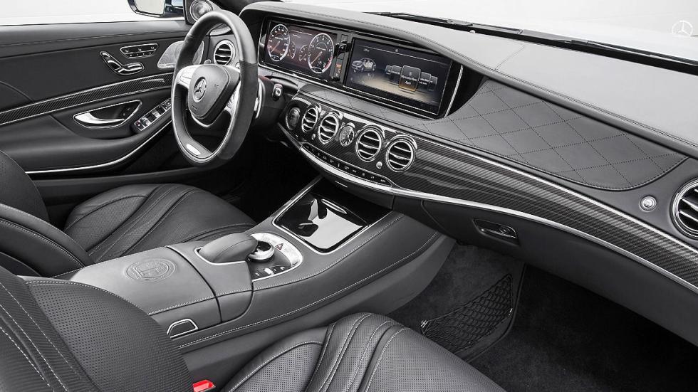 Prueba: Brabus S 850 interior