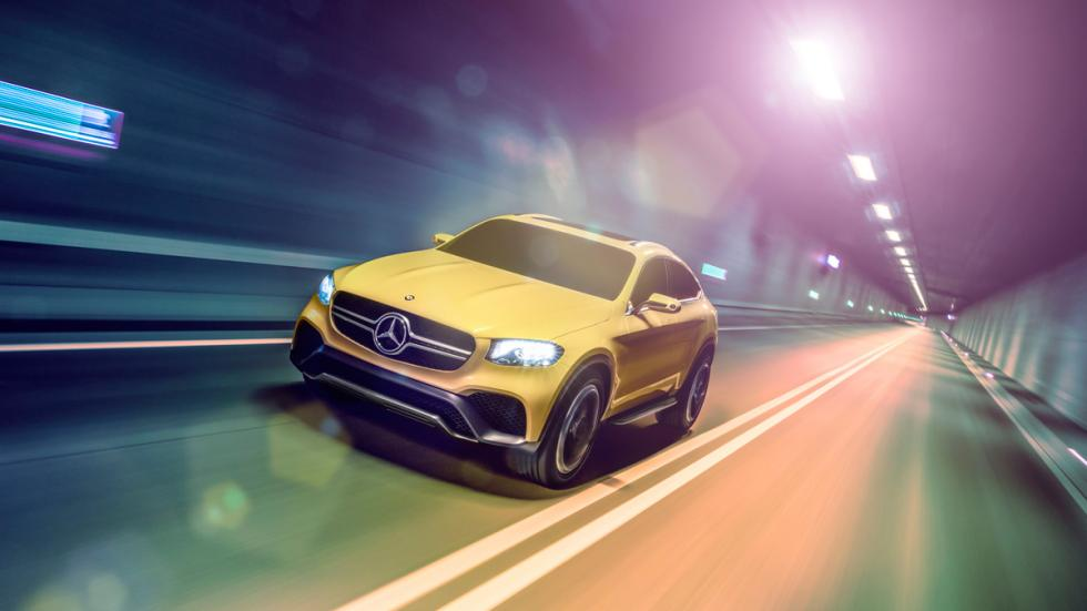 Mercedes GLC coupe concept dinamica