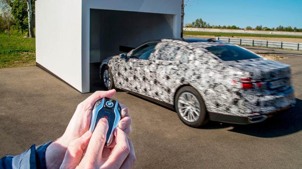 Aparcamiento remoto BMW Serie 7 2015 2