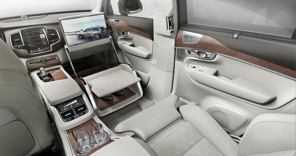 Volvo X90 Excellence con la Lounge Console