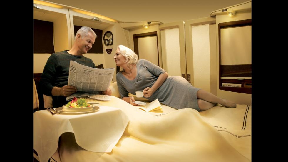 Singapur Airlines - clientes