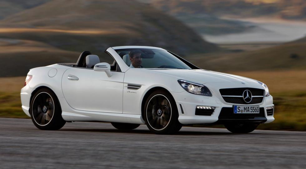 mejores-cabrios-primavera-Mercedes-SLK