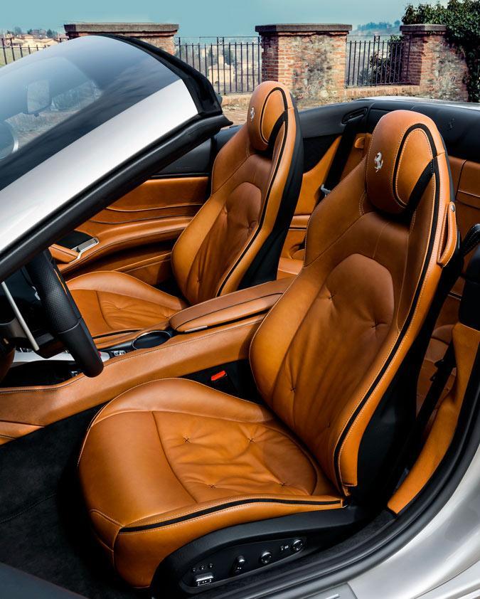 Ferrari California T Tailor Made asientos