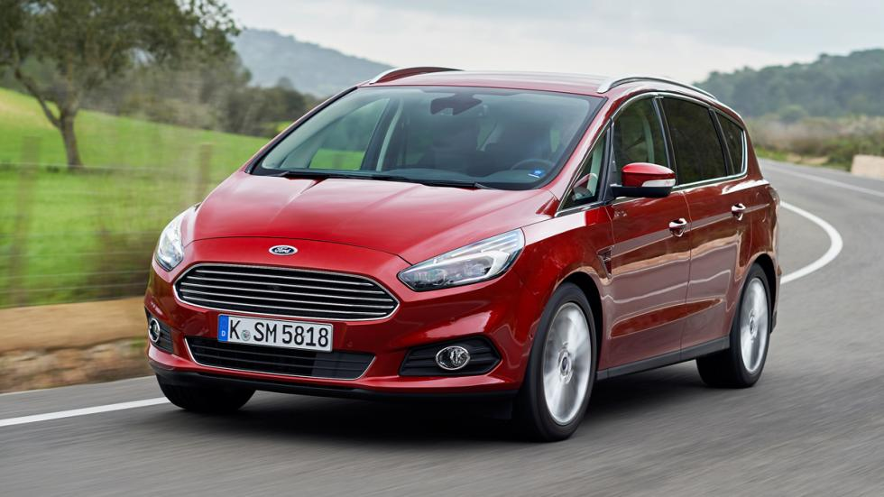 Ford S-Max frontal movimiento