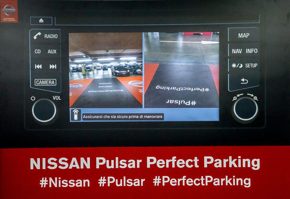 Cámara de visión 360º de Nissan