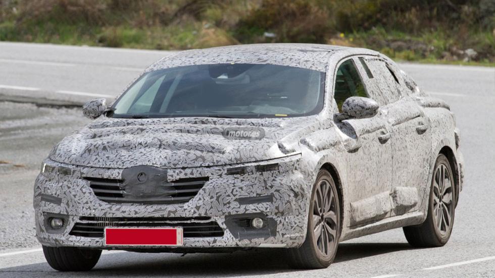 Renault Laguna híbrido 2016 tres cuartos delantero