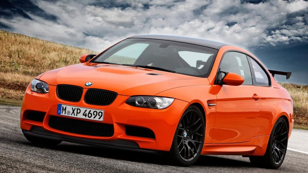 BMW M3 GTS tres cuartos delantero