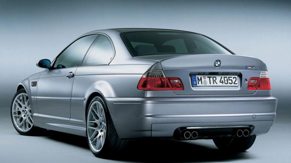 BMW M3 E46 CSL tres cuartos traseros