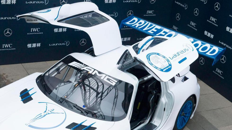 Mercedes SLS AMG GT3 solidario