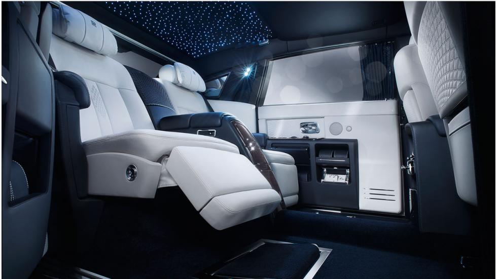Rolls-Royce Phantom Limelight plazas traseras