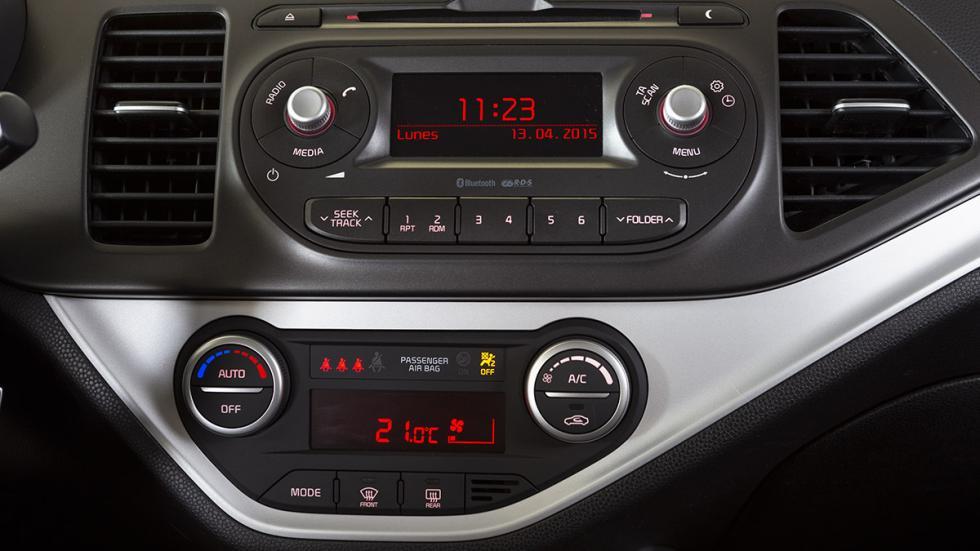 Nuevo Kia Picanto 2015 consola central