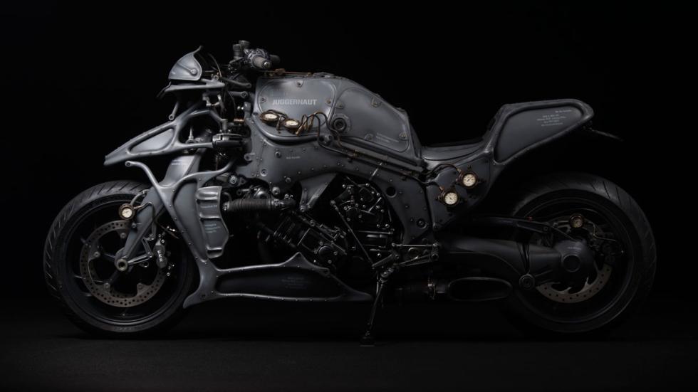 Suspensión delantera BMW Motorrad Duolever en la Juggernaut