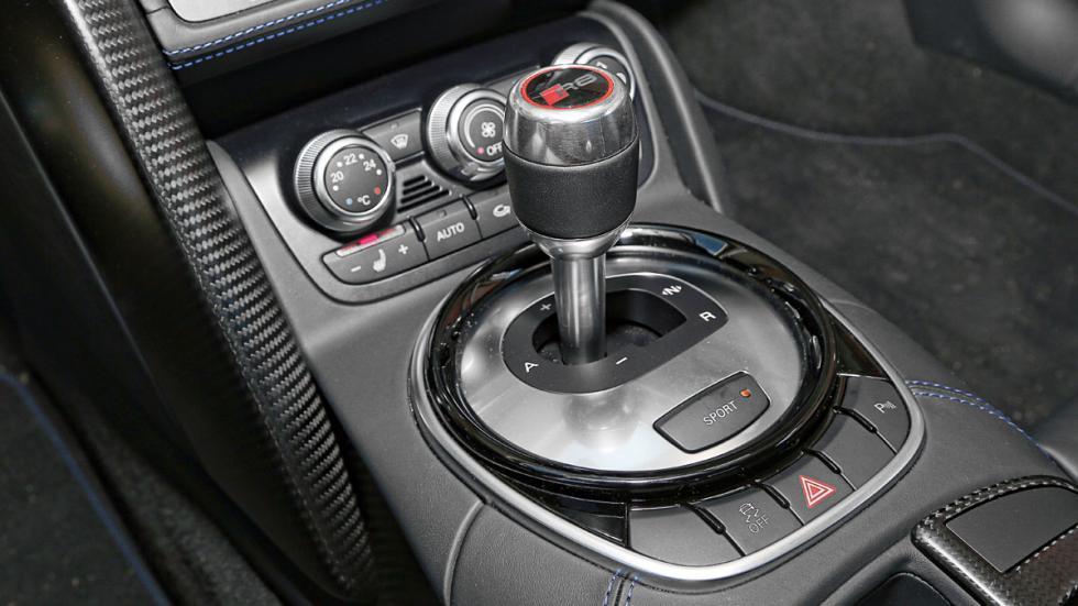 Audi R8 LMX cambio