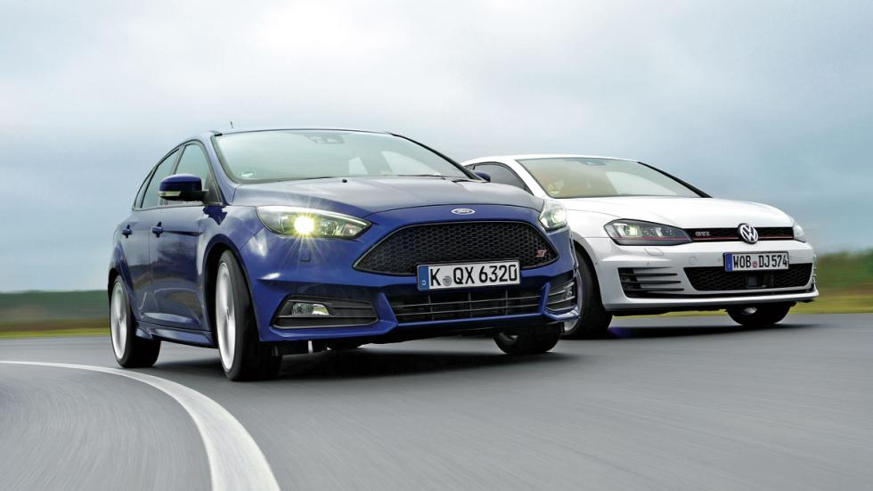 Ford Focus ST/VW Golf GTI