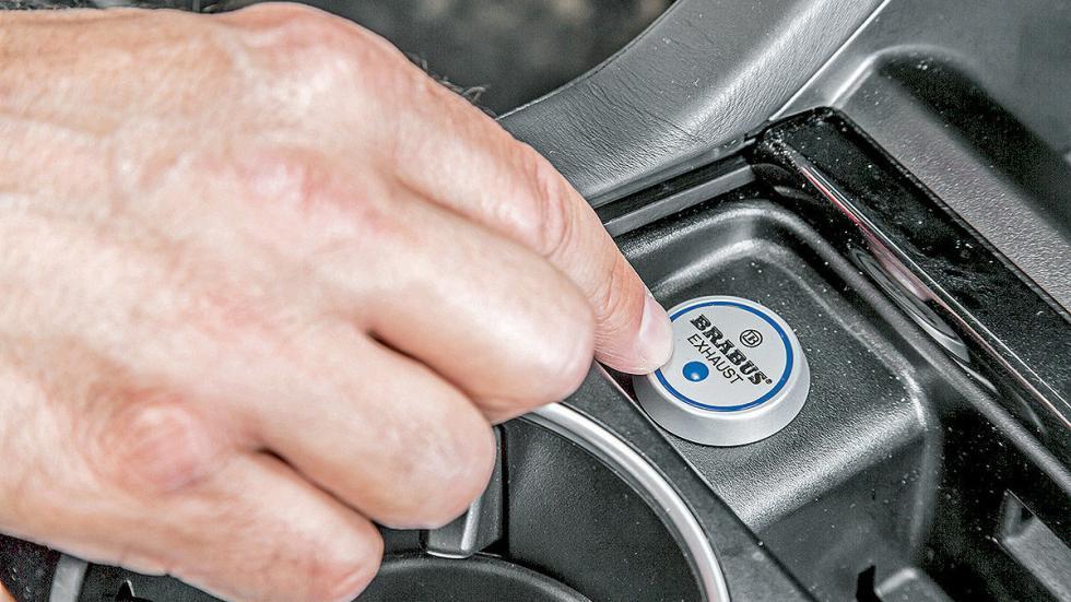 Un SUV brutal: al volante del Brabus B 63 620 asientos botón