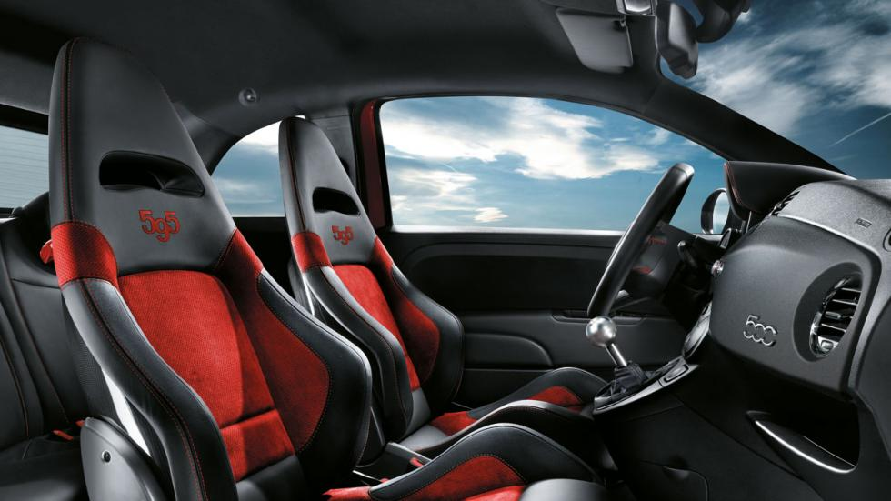 Abarth 500 2015 interior
