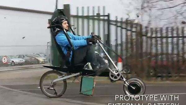 Babel Bike en acción