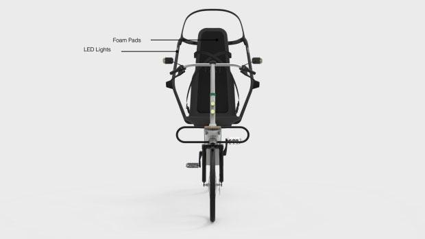 Elementos de seguridad de la Babel Bike
