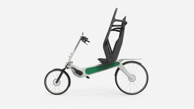 Bicicleta con cinturón de seguridad
