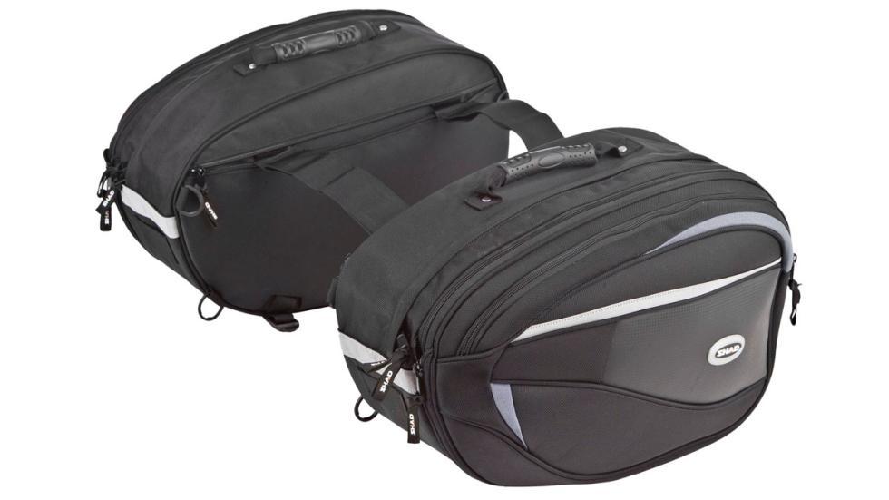 Para llevar de todo a cuestas, las maletas SHAD SH50