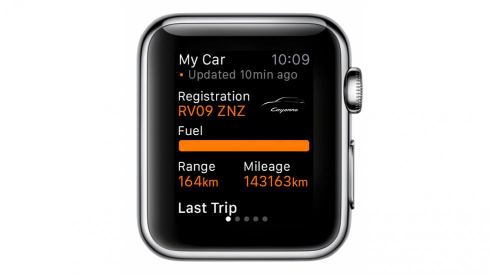 App de Porsche y BMW para Apple Watch - 6