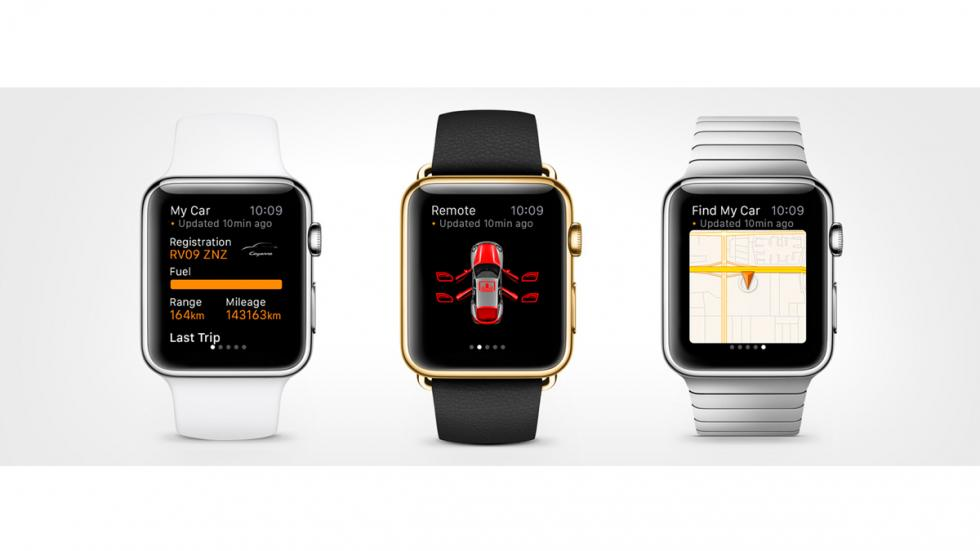 App de Porsche y BMW para Apple Watch - 7