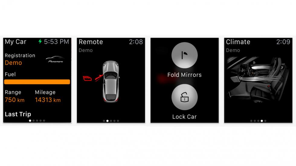 App de Porsche y BMW para Apple Watch - 8