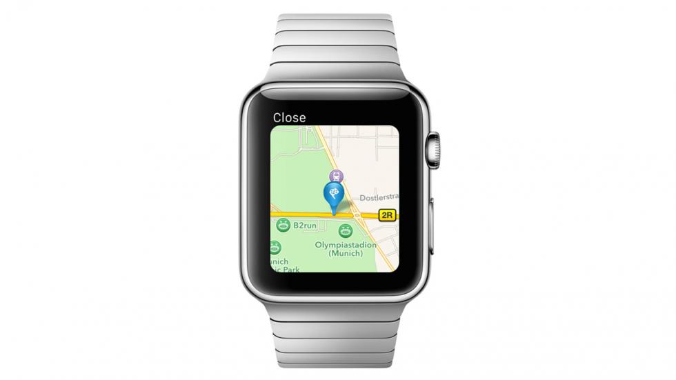App de Porsche y BMW para Apple Watch - 15