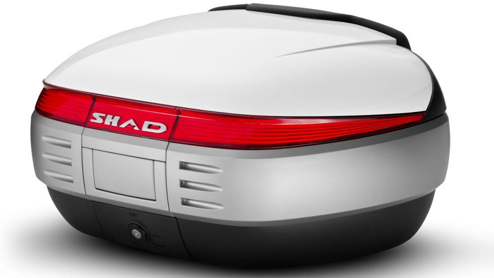 SHAD ofrece topcase tan exclusivos como capaces, también para maxiscooter