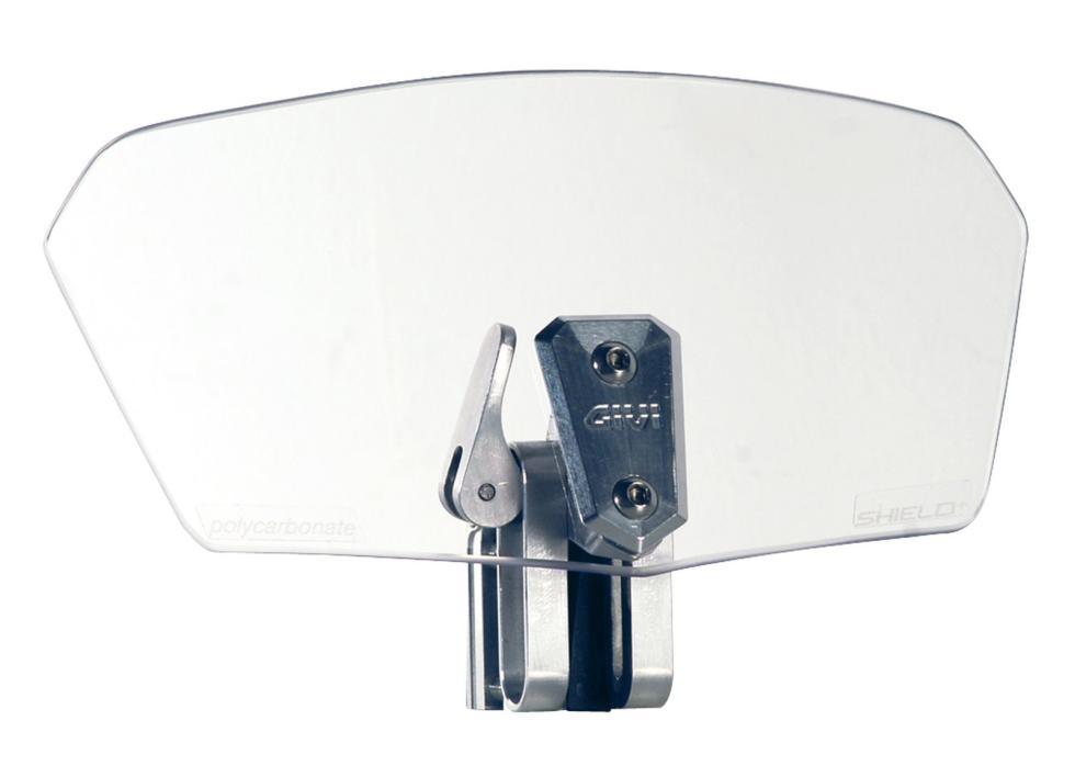 Aluminio anodizado en la fijación del nuevo spoiler GIVI ST180T