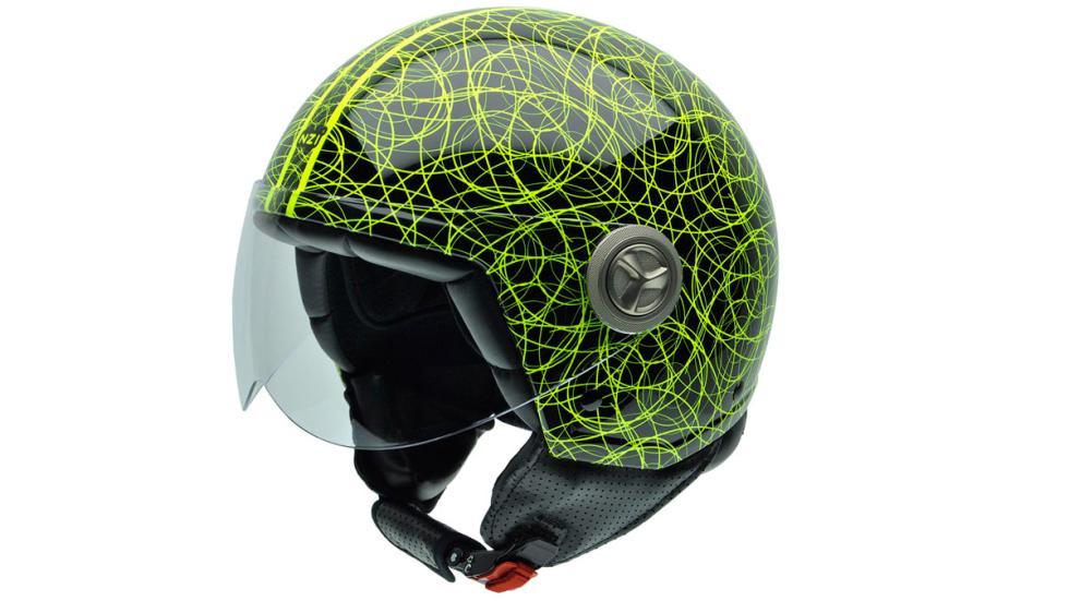 Esquema negro y verde para el jet Zeta Graphics Scarabocchio