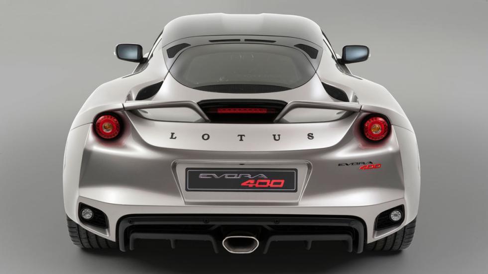 Lotus Evora 400 trasera