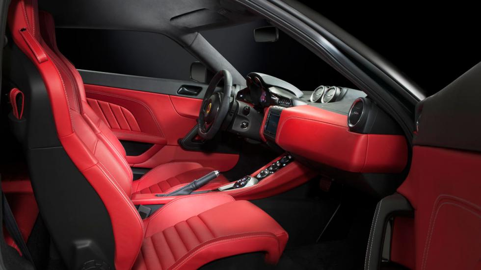 Lotus Evora 400 interior