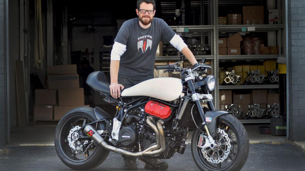 Brian Case ha creado la Motus Lone Star 2 Turbo