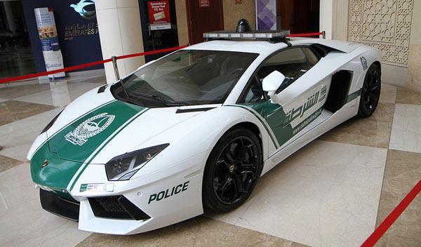 coches policia más rapidos aventador