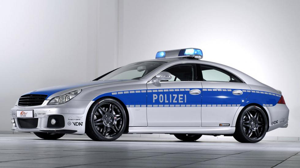 coches policia más rapidos brabus