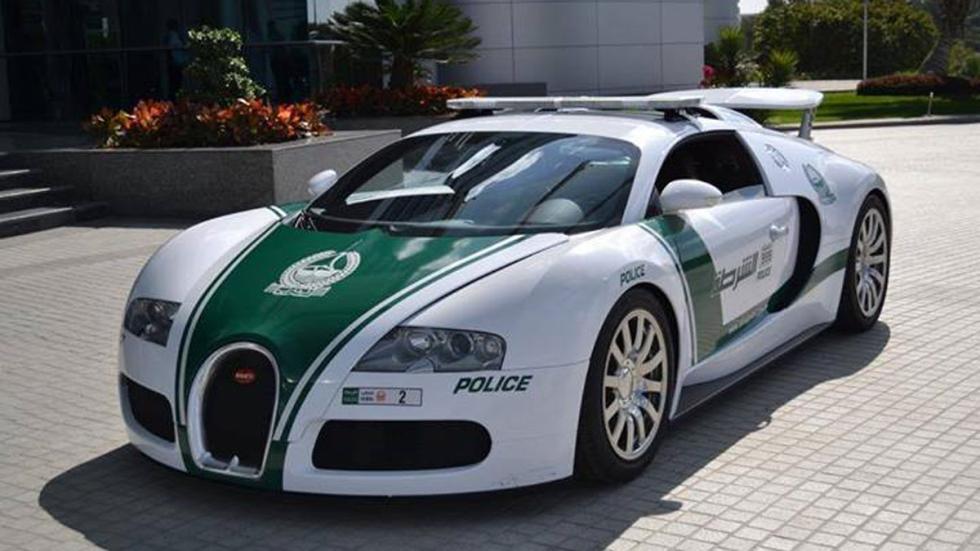 coches policia más rapidos veyron