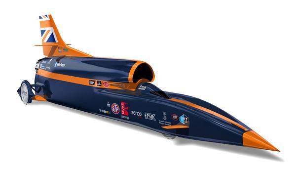 Bloodhound SSC, récord del mundo de velocidad sobre tierra: 1.689 km/h