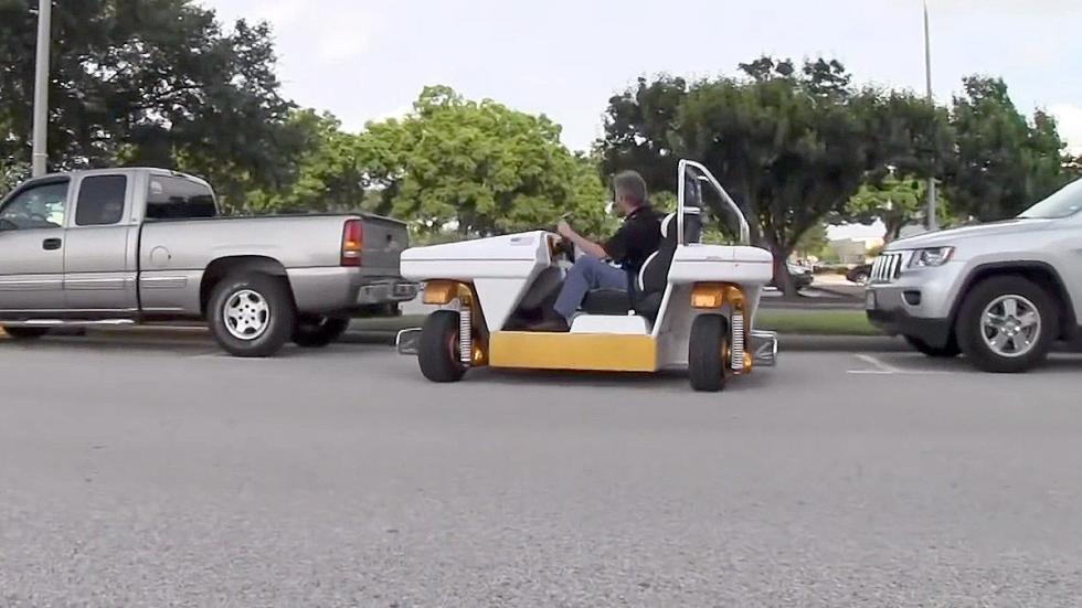 MRV: el revolucionario coche de la NASA lateral