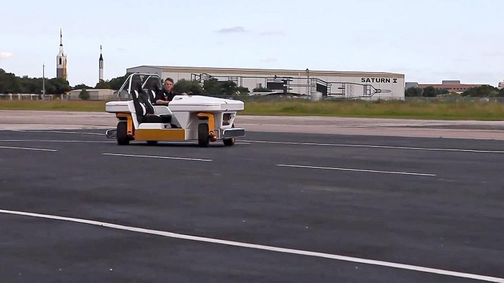 MRV: el revolucionario coche de la NASA dinámica