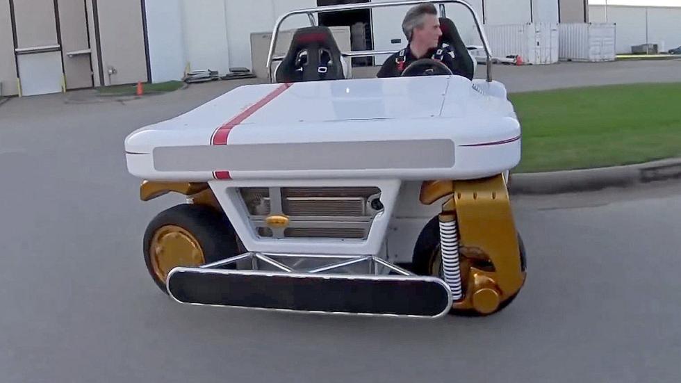 MRV: el revolucionario coche de la NASA morro
