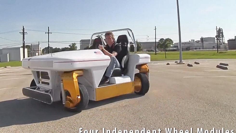 MRV: el revolucionario coche de la NASA frontal